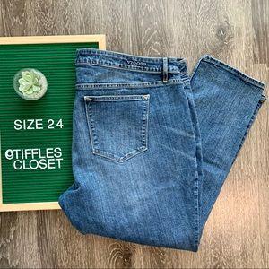 VIGOSS Jeans Jagger Skinny med wash plus size 24